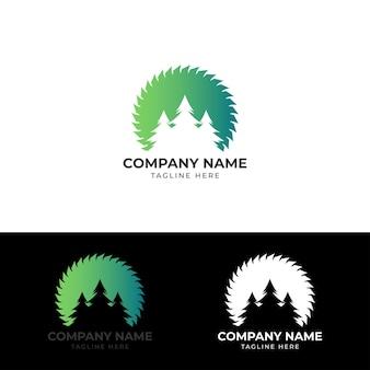 Логотип удаления негативного космического дерева