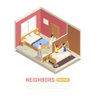 Neighbor relations banner template