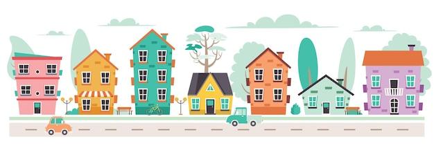 Иллюстрация улицы района