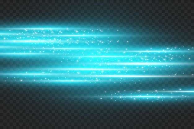 Neon background. illustration with blue light effect.