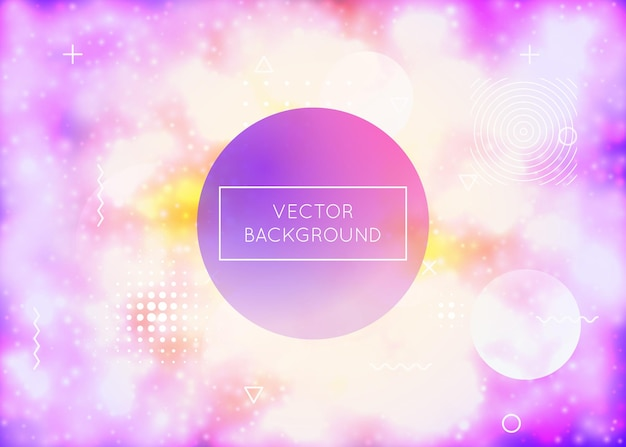 Neon background with liquid purple shapes. luminous fluid. fluorescent cover with bauhaus gradient. graphic template for placard, presentation, banner, brochure. stylish neon background.