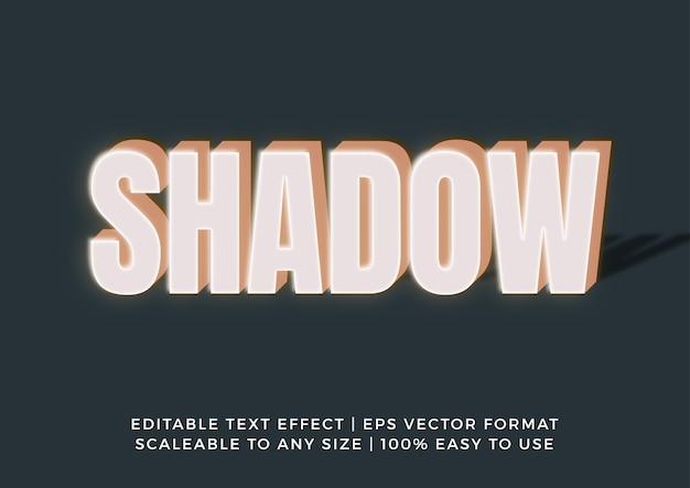 Эффект реалистичного текста заголовка neon box