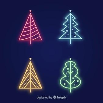 ネオンクリスマスツリーコレクション