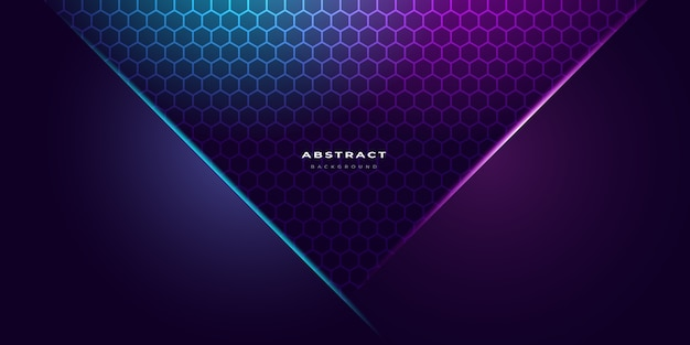 Neon colour abstract background template