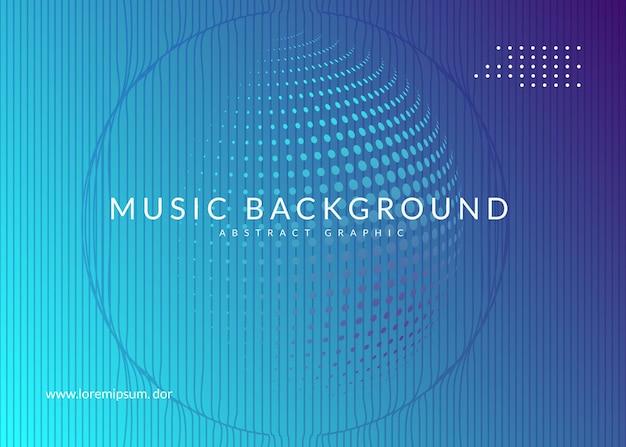 Неоновый флаер. творческий шаблон брошюры концерта. динамическая плавная форма и линия. неоновый флаер транс ивент. техно-диджей-вечеринка