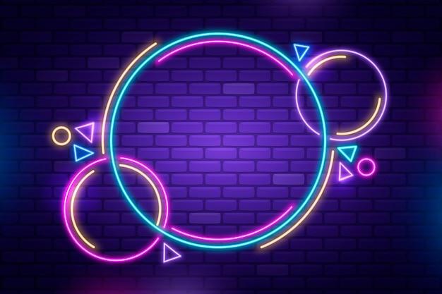 Neon framedesign