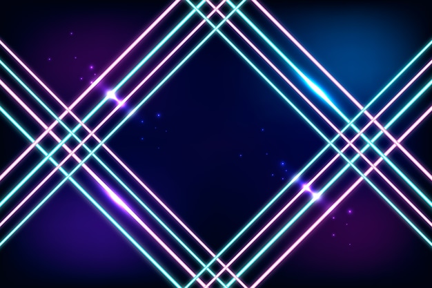 Neon light background