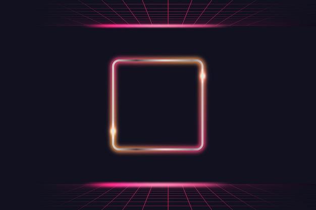 Neon light frame