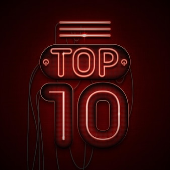 Neon light top 10