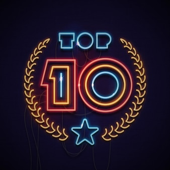 Неоновый свет топ 10