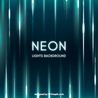 Neon lights background in abstract style