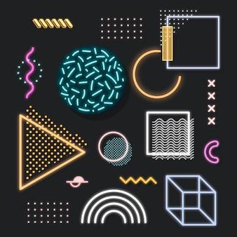 Ресурсный пакет по дизайну neon memphis