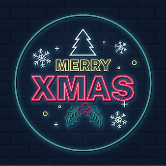 ネオンメリークリスマス