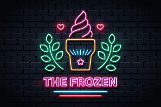 Design di insegne al neon per pub e ristoranti