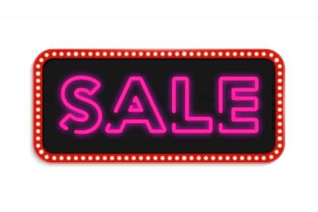 Neon symbols special offer