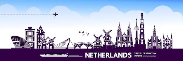 네덜란드 여행 목적지