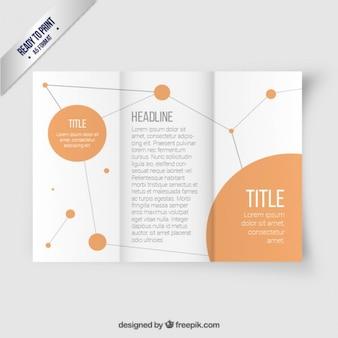 Network brochure template