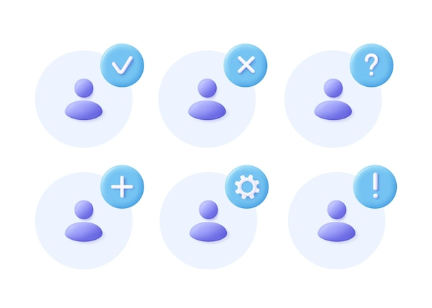 Network group icon set social community business team  communication icon