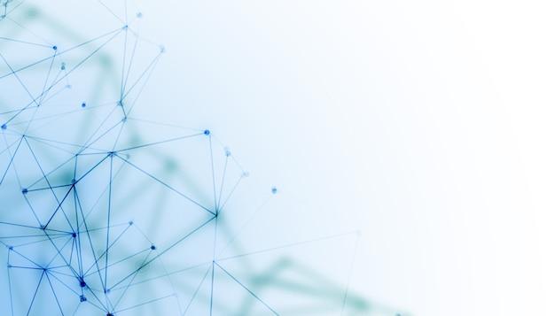 네트워크 메쉬 와이어 디지털 기술 배경