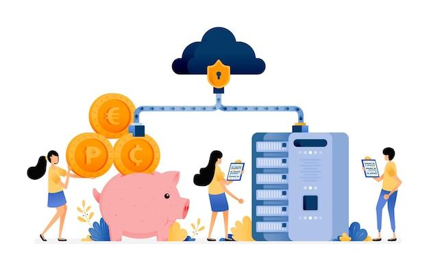 은행 및 금융 시스템 데이터베이스의 네트워크 보안