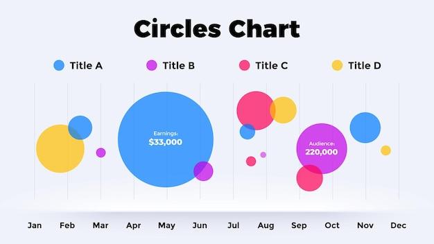 Neumorphic 원형 차트 벡터 infographic 그래프 프레 젠 테이 션 다이어그램 템플릿 옵션