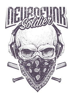 Neurofunk soldier