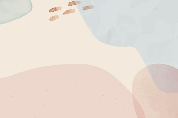 Sfondo acquerello astratto morbido neutro
