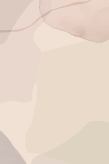 Neutral soft abstract watercolor background