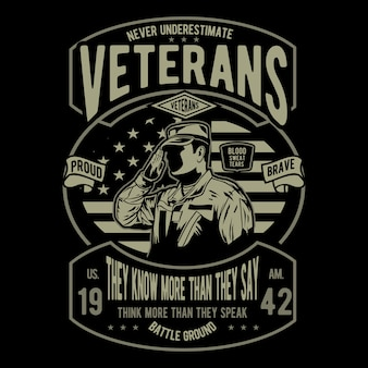 Never underestimate veterans