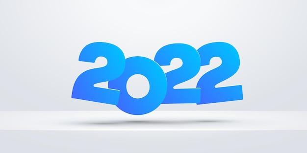 새로운 2022 년 포스터 밝은 그림