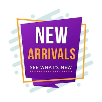 New arrival banner折り紙折り紙