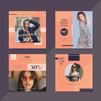 New arrival social media template template sales