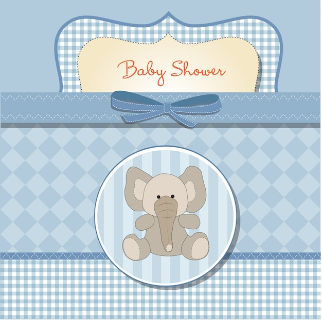 新しい赤ちゃんのアナウンスカード