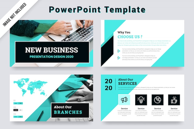 New business presentation template design- 2020