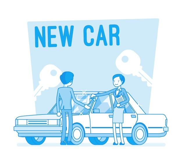 New car buying