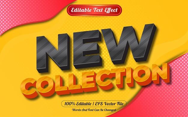 새로운 컬렉션 3d 편집 가능한 텍스트 효과 추상적 인 배경