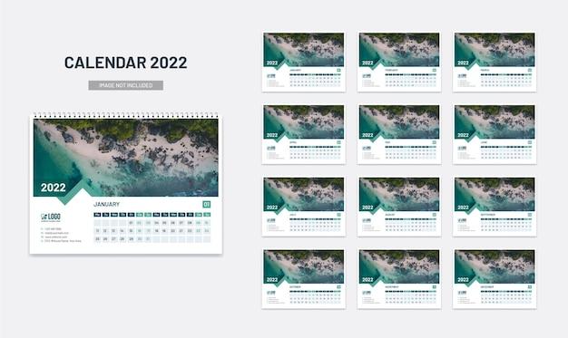 Новый настольный календарь на 2022 год