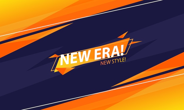 The new era abstract background