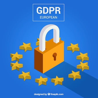 New european gdpr concept