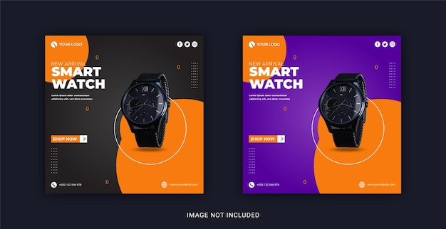 New and exclusive smart collection collection instagram banner template