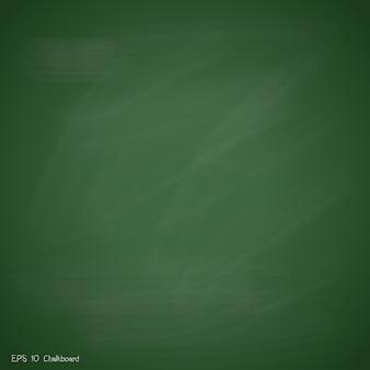 新しい緑の黒板の背景