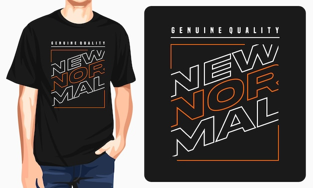 New normal graphic tshirt