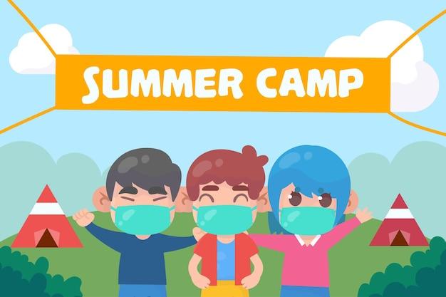 여름 캠프의 새로운 정상