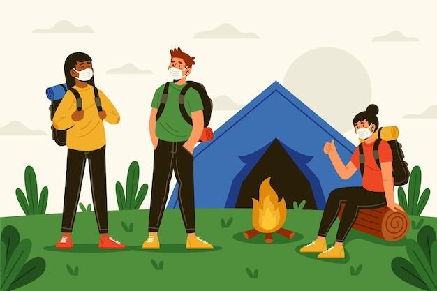 여름 캠프의 새로운 표준