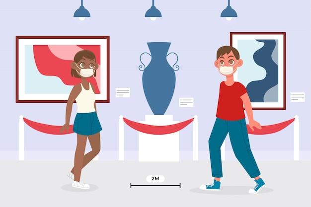 Nuova normalità nei musei