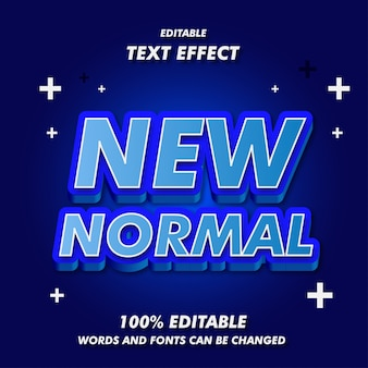 New normal text effects