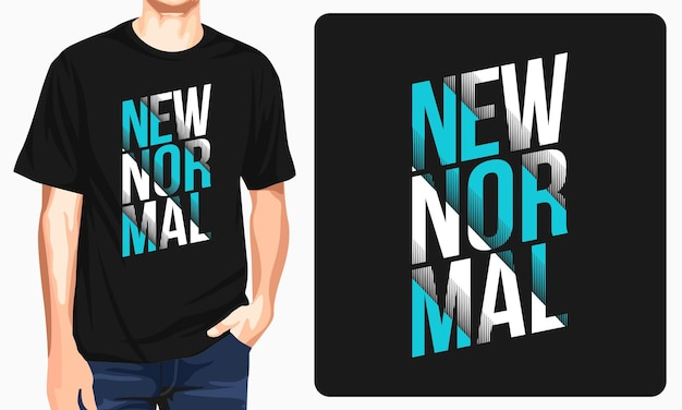 New normal typography