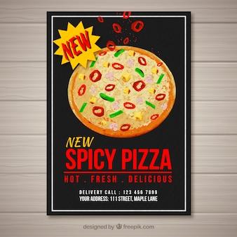 New pizza spice brochure