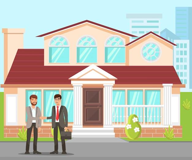 New property purchasing flat