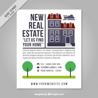 New real estate brochure